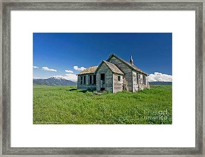 Framed Print featuring the photograph Better Days by Mitch Shindelbower