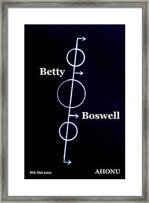 Betty Boswell Framed Print