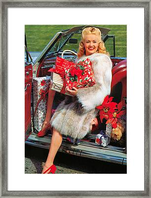 Betty Grable (1916-1973) Framed Print