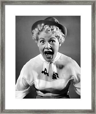 Betty Hutton, 1950 Framed Print