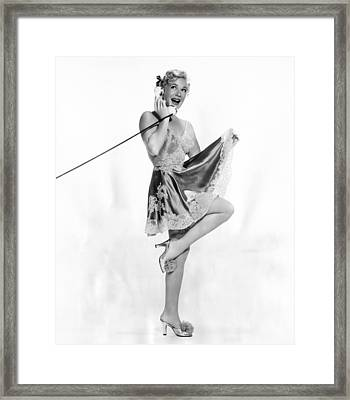 Betty Hutton, Ca. Early 1950s Framed Print by Everett