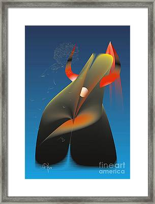 Between Day And Night Framed Print