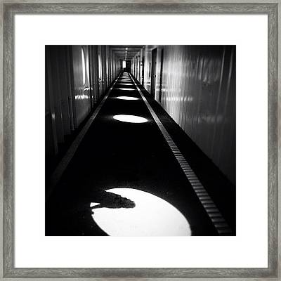 Between Shadows There Is Light Framed Print