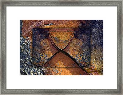 Between Tides Number 16 Framed Print by Carol Leigh