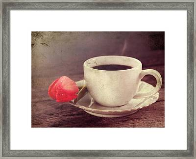 Beverage Framed Print by Darren Fisher