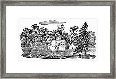 Bewick: Landscape Framed Print by Granger