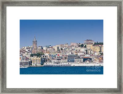 Framed Print featuring the photograph Beyoglu by Andrew  Michael