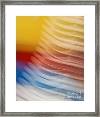 Beyond Limits Framed Print by Barbara McMahon