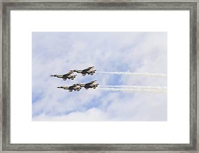 Beyond Mach One Framed Print