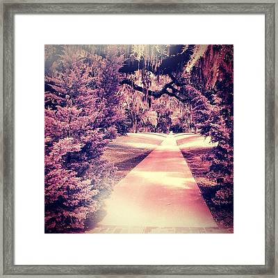 Beyond The Crossroads Framed Print