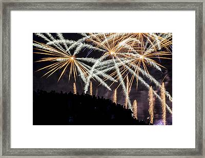 Beyond The Hill Framed Print