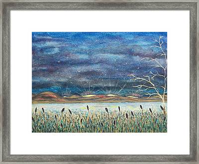 Beyond The Horizon Framed Print by Jeanette Stewart