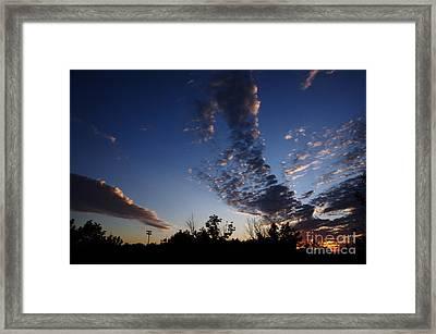 Beyond The Horizon Framed Print