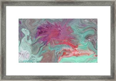 Beyond The Sea And Universe Framed Print by Sherri's - Of Palm Springs