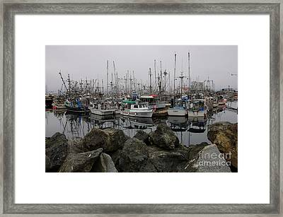 Beyond The Stones Framed Print by Bob Christopher