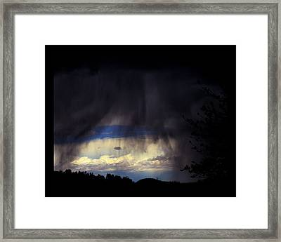 Framed Print featuring the photograph Beyond The Veil by Susanne Still