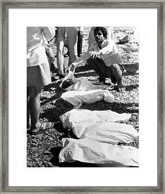 Bhopal Disaster Victims, India, 1984 Framed Print by Ria Novosti