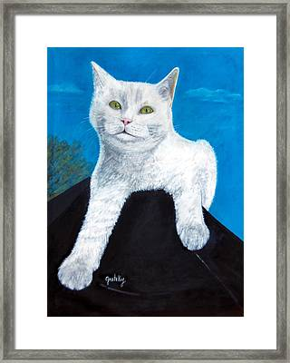 Bianca Framed Print by Paintings by Gretzky