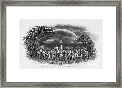 Bible: Jesus, 1833 Framed Print