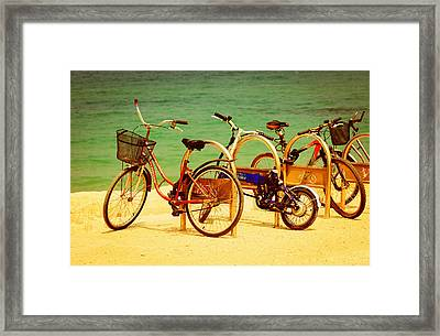 Bicks Framed Print by Amr Miqdadi