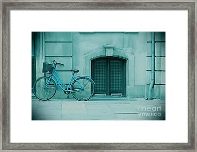 Bicycle Blues Framed Print by Sophie Vigneault