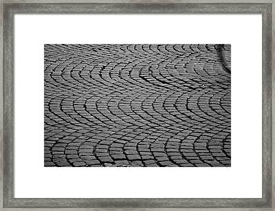 Bicycle Ripples Framed Print