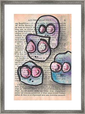 Bien Arme Framed Print by Jera Sky