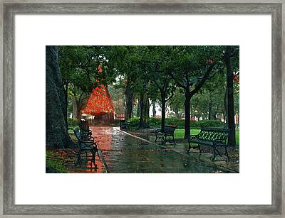 Bienville Square Framed Print by Michael Thomas