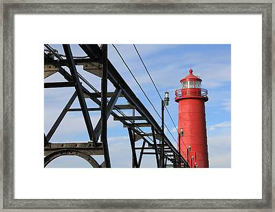 Big And Strong Framed Print by Sheryl Burns