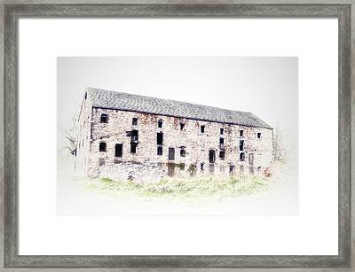 Big Ass Barn Framed Print by Bill Cannon