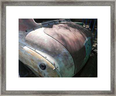 Big Assss Plymouth Framed Print by Chuck Re
