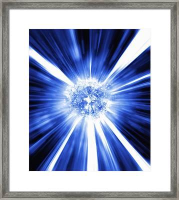 Big Bang, Conceptual Artwork Framed Print by Mehau Kulyk