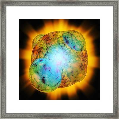 Big Bang Inflation Framed Print by Detlev Van Ravenswaay