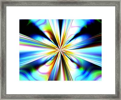 Big Bang Framed Print by Laguna Design
