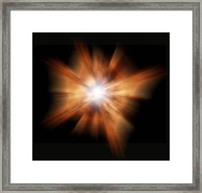 Big Bang Framed Print by Victor De Schwanberg