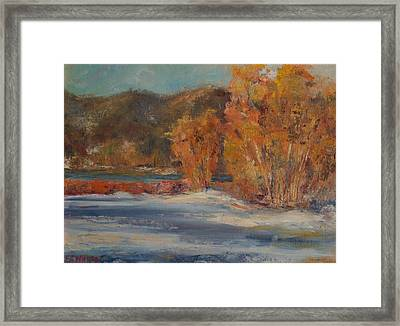 Big Bear Winter Framed Print