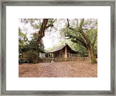 Big Bend Farmhouse Framed Print by Marilyn Holkham