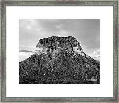 Big Bend Mesa Framed Print