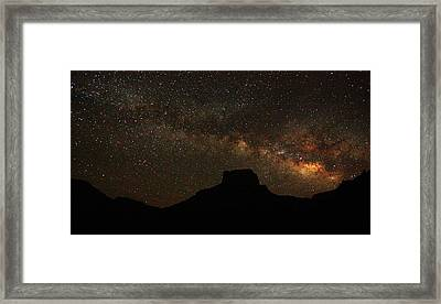 Big Bend Night Framed Print