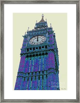 Big Blue Ben Framed Print by Beth Saffer