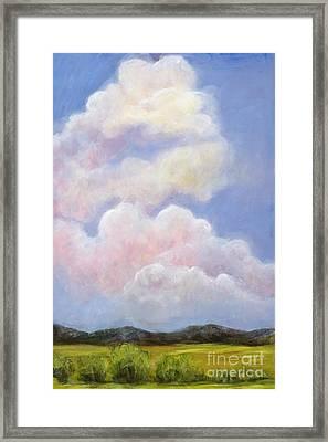 Big Blue Colorado Sky Framed Print