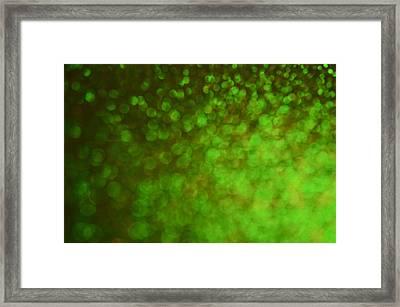 Big Bokeh Framed Print