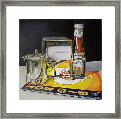 Big Boy Diner Framed Print