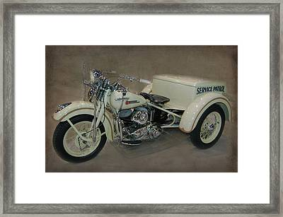 Framed Print featuring the photograph Big Boy Tricycle by Bill Dutting