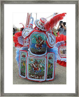 Big Chief Back Framed Print by Torey Polk