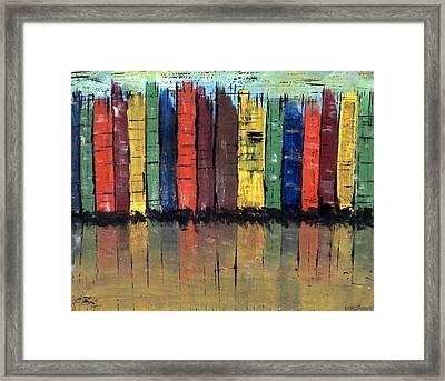 Big City Color Framed Print by Kathy Sheeran
