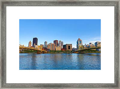 Big City Framed Print by Jimmy Taaffe