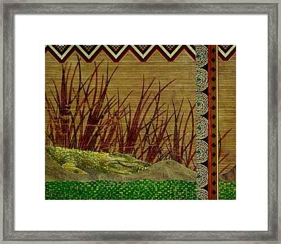 Big Croc Framed Print by David Raderstorf