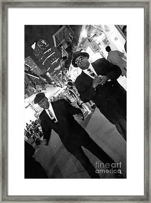 Big Daddy Framed Print by Leslie Leda