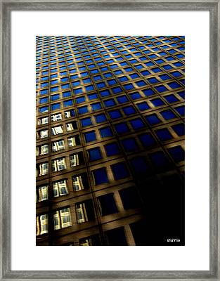 Big Dallas Framed Print